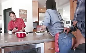 Slutty Mom Fuck With Stepson While Dad Is Having Breakfast YouPorn
